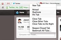 Cách ghim tab trên trình duyệt Google Chrome