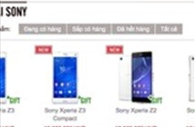 Sony Việt Nam bất ngờ hạ giá Xperia Z1, Z2 và Z3