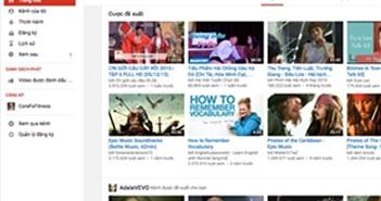 Người Việt thích xem hài và nghe nhạc trẻ trên Youtube