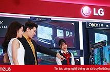 LG đưa ra 30 mẫu TV 4K chuẩn bị cho nhu cầu tăng mạnh trong dịp Tết 2018