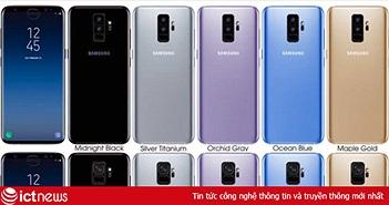 Sự khác biệt giữa Galaxy S9 và S9+