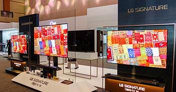 LG đẩy mạnh các dòng TV OLED dịp mua sắm cuối năm