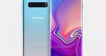 Samsung Galaxy S10+ chỉ có 3 camera ở mặt sau