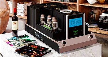 McIntosh MC901 - Monoblock chạy hai mạch công suất đèn và bán dẫn, tích hợp phân tần
