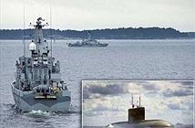 Thụy Điển, Phần Lan diễn tập tìm tàu ngầm đề phòng Nga?