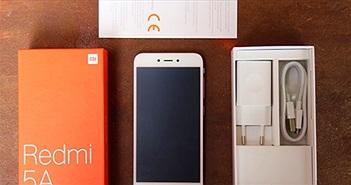 """""""Đập hộp"""" sớm Xiaomi Redmi 5A giá rẻ sắp trình làng"""