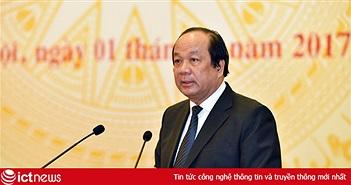 """Bộ trưởng Mai Tiến Dũng: """"Việt Nam đã sẵn sàng hướng đến Chính phủ số"""""""