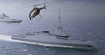Pháp ký hợp đồng phát triển công nghệ drone cất cánh từ chiến hạm hải quân