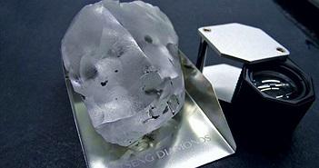 Đào được viên kim cương to nhất nhì lịch sử, cực kỳ đắt đỏ