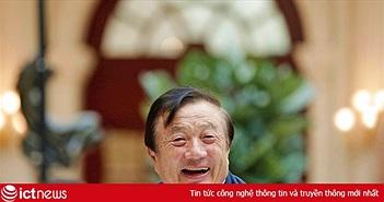 Cha đẻ Huawei xuất hiện sau thời gian dài ẩn mình