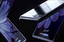 Galaxy Z Flip sẽ có màn hình gập lại độc nhất vô nhị