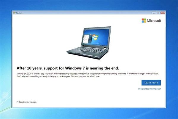 Ai hưởng lợi lớn khi Windows 7 bị khai tử?