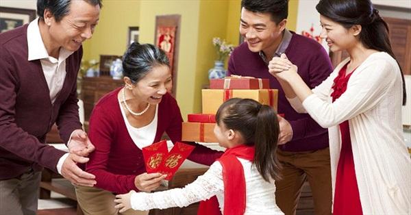 Tìm hiểu về phong tục Mừng tuổi ngày Tết