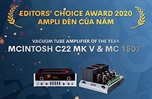 Editors Choice Awards 2020 - McIntosh C22 MK5 & MC 1502 - Ampli đèn của năm