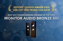 Editors Choice Awards 2020 - Monitor Audio Bronze 500 – Loa cột tầm trung của năm