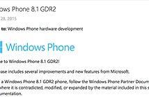 Microsoft đăng tài liệu về Windows Phone 8.1 GDR2: hỗ trợ Video-over-LTE, cải tiến khôi phục ô tile