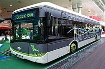 Hơn một nửa xe buýt công cộng sẽ trở thành xe buýt điện vào năm 2025
