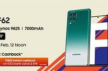 Samsung Galaxy F62 ra mắt: Exynos 9825, pin 7000mAh, giá từ 330 USD