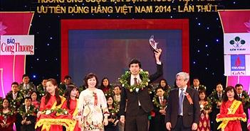 MISA là DN phần mềm duy nhất đạt giải Thương hiệu Việt tiêu biểu
