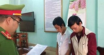 Đà Nẵng: Tạm giam hai đối tượng dùng website lừa đảo