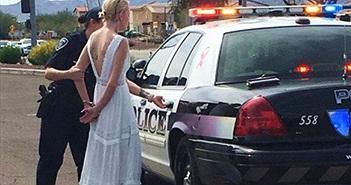 Bi hài cô dâu bị bắt trên đường tới đám cưới