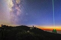 Mê mẩn thời khắc Milky Way nghiêng mình trong lúc chạng vạng