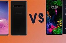 """Đọ sức Galaxy S10 và LG G8 ThinQ: """"Trâu bò"""" đánh nhau"""