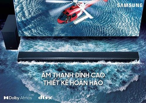 Samsung giới thiệu loạt sản phẩm loa thanh 2021 tại thị trường Việt Nam giá từ 4,5 triệu