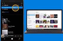 Rò rỉ hình ảnh về 2 ứng dụng Music & Video mới trên máy tính bảng Windows 10