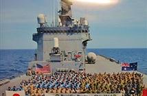 Cận cảnh tàu đổ bộ Nhật Bản vừa đến Đà Nẵng