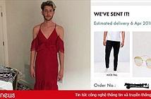 Chàng trai bị Internet trêu vì đặt mua quần và kính râm nhưng trúng ngay váy hai dây