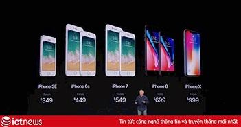 """iPhone X tiếp theo sẽ có giá 1.100 USD, Apple đang """"chơi khăm"""" người dùng?"""