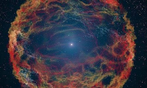 Kinh ngạc sao neutron kỳ thú trong trái tim tinh vân lạ