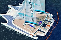 Tàu Manta - ngôi sao trong dự án thu gom chất thải dẻo ở đại dương