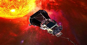 Tàu thăm dò Parker đang tiến gần hơn tới Mặt Trời