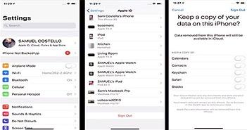 Hướng dẫn tắt iCloud trên iPhone