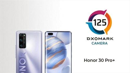 Honor 30 Pro+ vừa ra mắt đã chiếm vị trí thứ 2 của DxOMark, thua mỗi P40 Pro