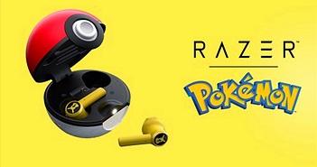 Razer ra mắt tai nghe Pokémon Pikachu, hộp đựng là Pokeball