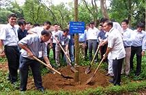 MobiFone tham gia trồng cây kỷ niệm 125 năm ngày sinh Bác Hồ