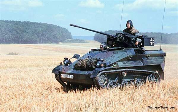 Xe thiết giáp nhảy dù duy nhất của phương Tây
