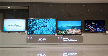 LG ra mắt loạt TV thế hệ mới phiên bản 2018 tại Việt Nam