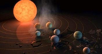 Khám phá 7 hành tinh giống Trái Đất có thể tồn tại sự sống