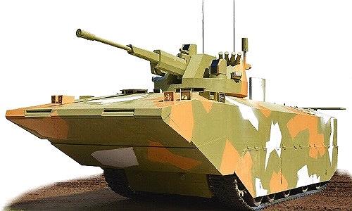 Lộ diện xe bọc thép chở quân mới Hải quân Đánh bộ Nga