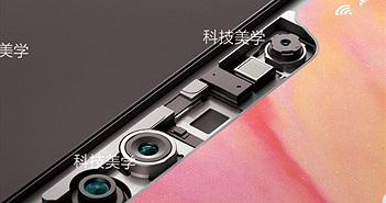 Đây là cụm camera nhận diện khuôn mặt 3D của Xiaomi Mi 7, lần đầu lộ diện rõ nét
