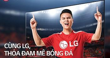 World Cup 2018: LG đưa loạt TV thế hệ mới về Việt Nam kèm 'cơn mưa quà tặng'