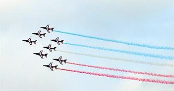 Chùm ảnh tuyệt đẹp về triển lãm hàng không Paris 2015