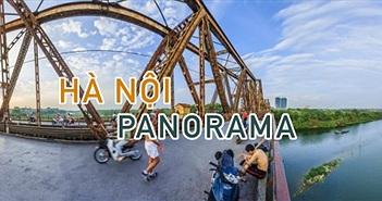 Phong cảnh Ảnh Hà Nội Panorama từ trên cao - Chụp bởi kts.phuloc
