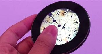 Runcible - chiếc điện thoại tròn chạy Android có thiết kế giống đồng hồ quả quýt