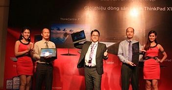 Lenovo ra mắt 4 máy tính dòng X1 tại Việt Nam