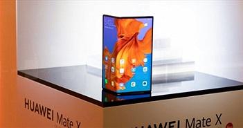 Không bị lỗi như Galaxy Fold, Huawei Mate X vẫn bị trì hoãn